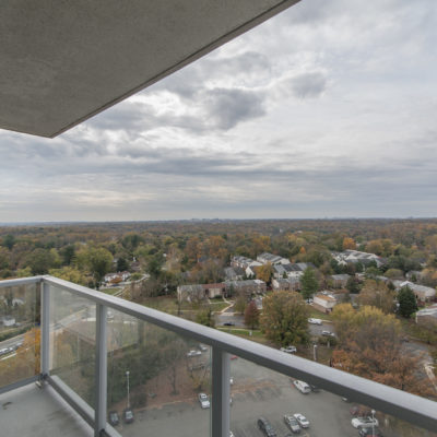 View of Silver Springs, MD from a luxury high rise apartment building